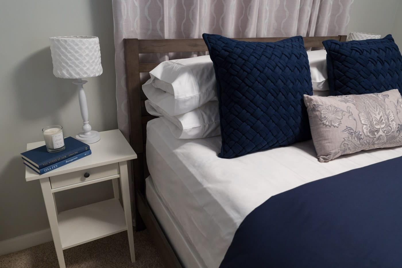 Guest Bedroom Interior Design Evanston Calgary