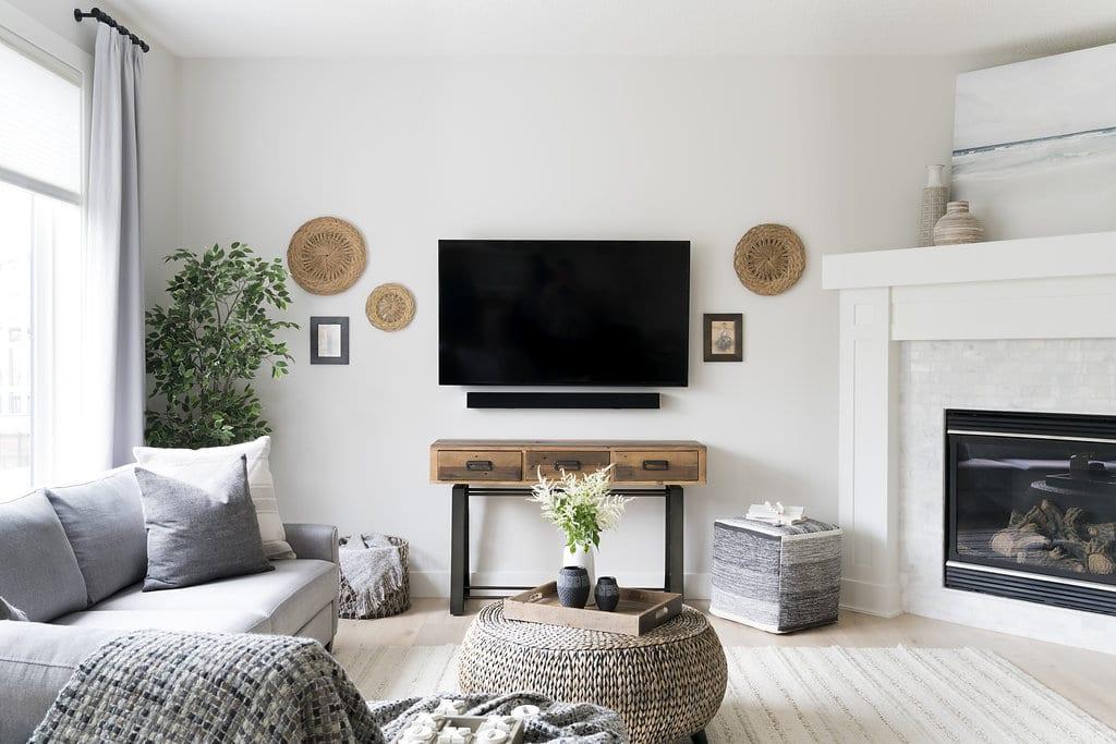 Living Room Interior Design Auburn Bay Calgary