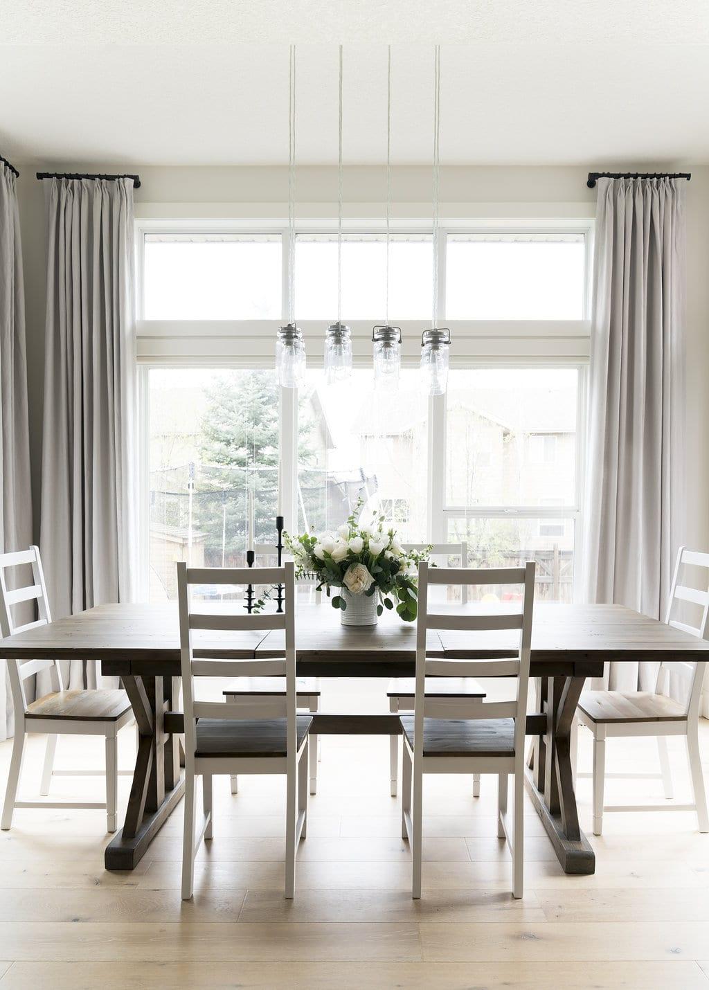 Dining Room Interior Design Auburn Bay Calgary