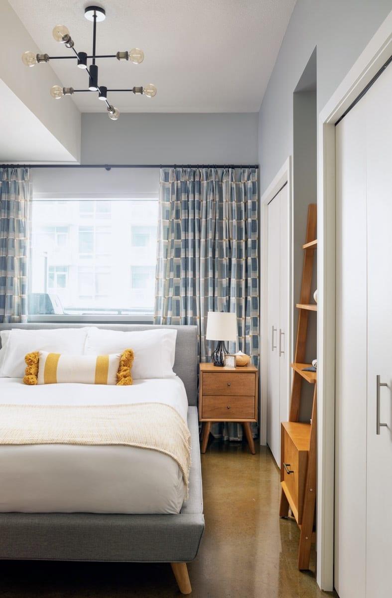 Bedroom Interior Design Victoria Park Calgary