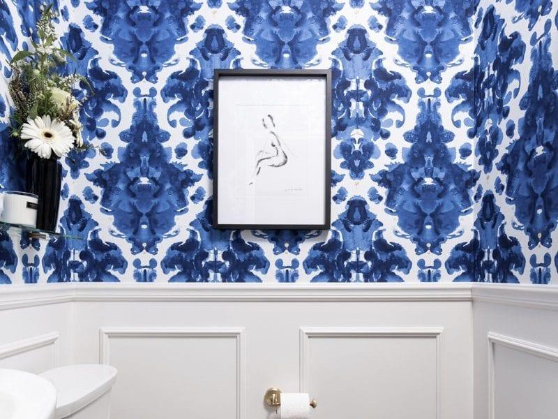 Powder Room Interior Design Chestermere Alberta