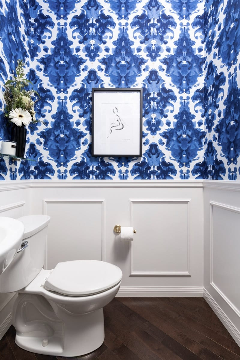 Powder Room Interior Design Chestermere Alberta