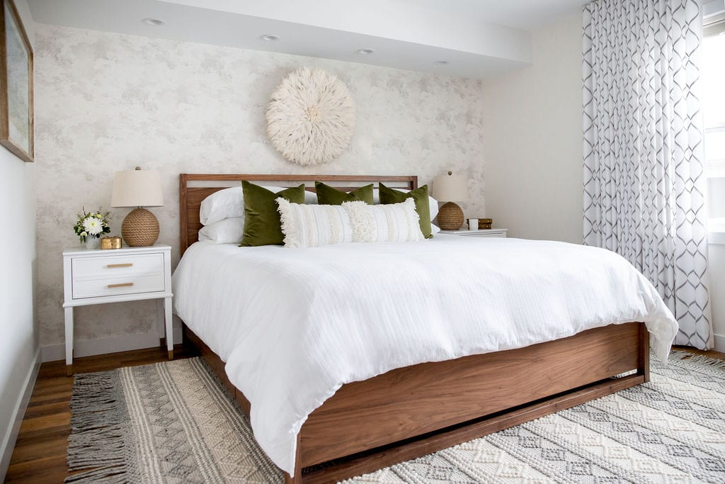 Master Bedroom Interior Design Chinook Park