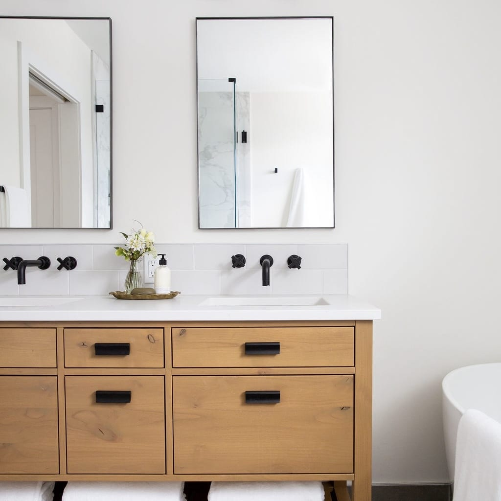 Master Bathroom Interior Design Chinook Park Calgary