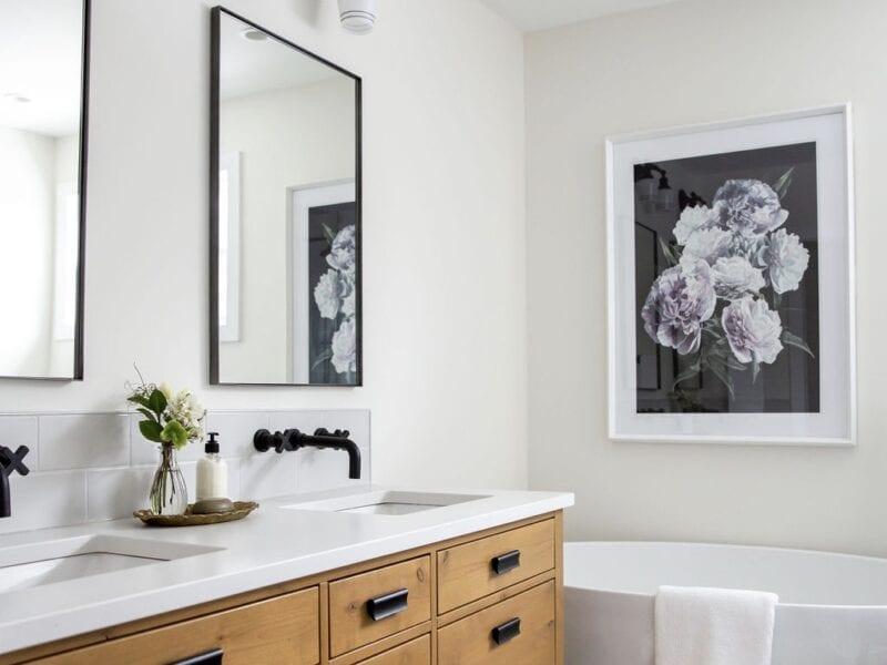 Master Bathroom Interior Design Chinook Park Calgary