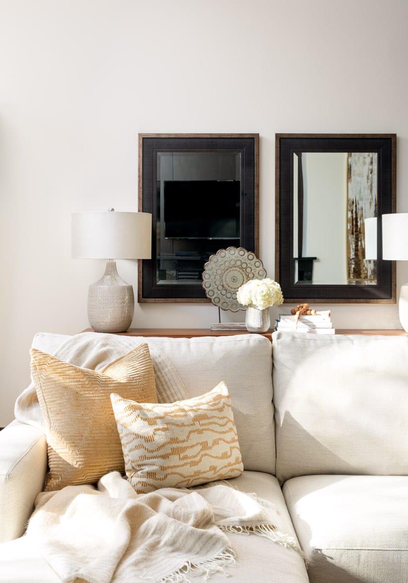 Living Room Interior Design Tuxedo Park Calgary