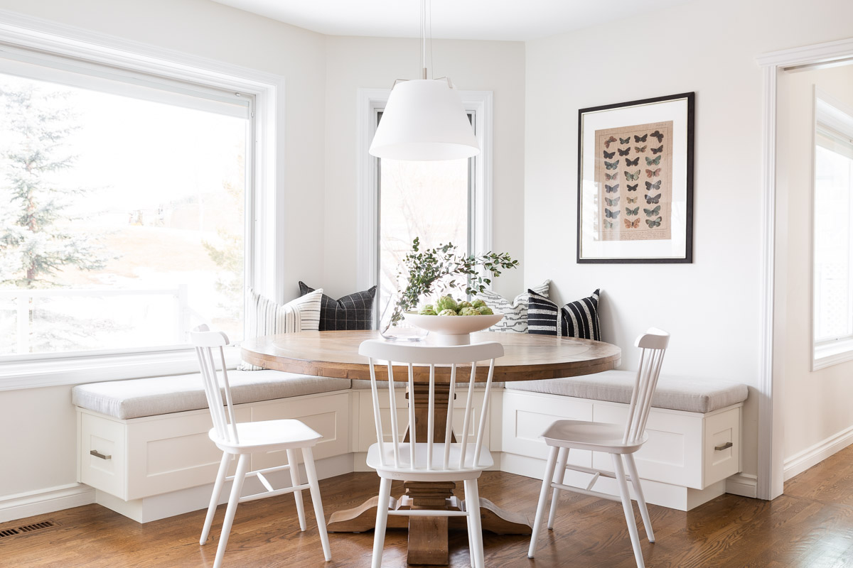 Breakfast Nook Interior Design Signal Hill Calgary