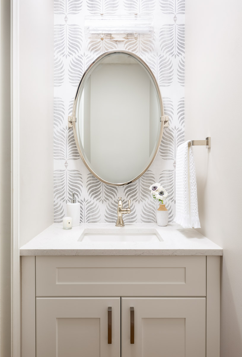 Powder Room Interior Design Signal Hill Calgary